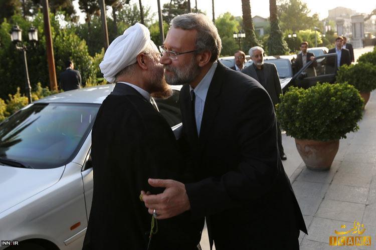 روحانی با چه خودرویی به مجلس رفت؟ + عکس