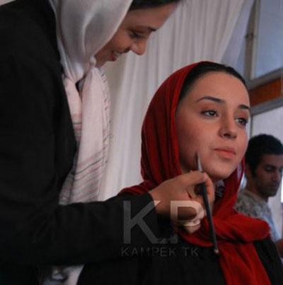 گریم بازیگران زن مشهور سینمای ایران +تصاویر