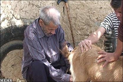 مسن ترین فرد ایرانی در ابرکوه درگذشت+عکس