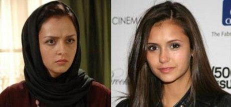 شباهت بازیگران ایرانی و خارجی به یکدیگر + تصاویر
