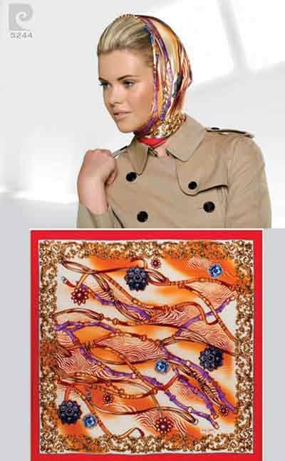 مدل روسری پیر گاردین