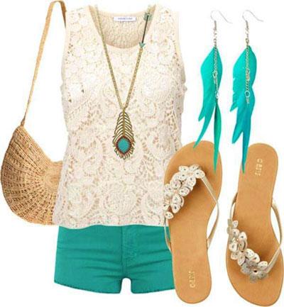زیباترین و شیکترین ست لباس تابستانه برای خانمها