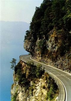 پر پیچ و خمترین جادههای جهان+عکس