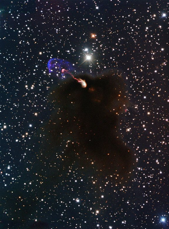 تصاویر واقعی از لحظه تولد یک ستاره