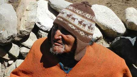 پیرترین مرد جهان +عکس