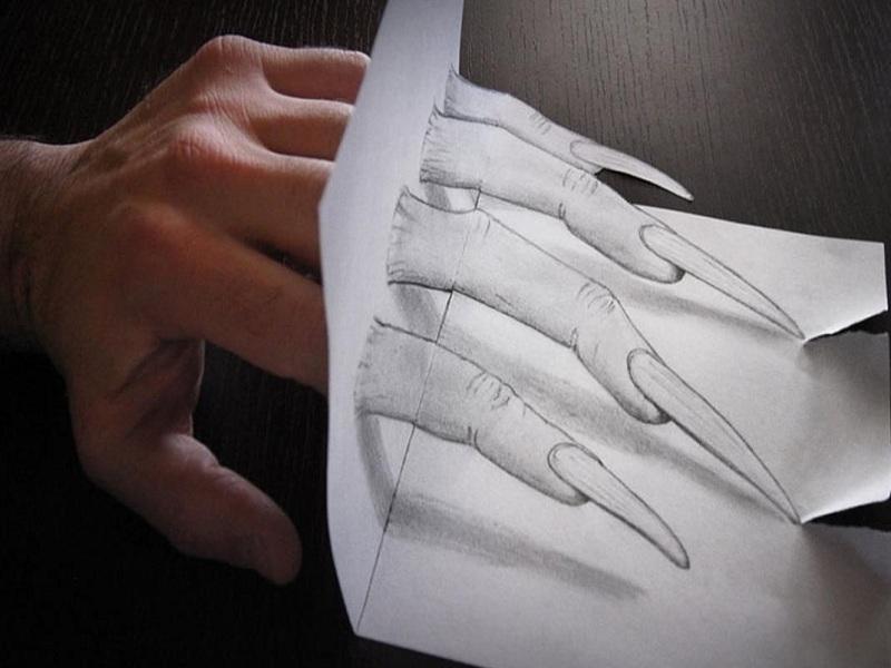 شاهکارهای خارق العاده و زیبای سه بعدی با مداد