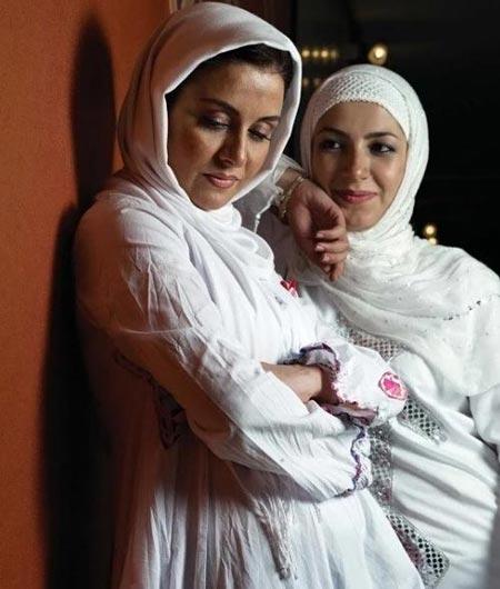 ملیکا و مریلا زارعی در کنار هم +عکس