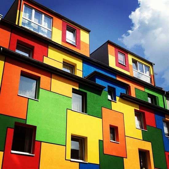 شادترین ساختمان های دنیا +تصاویر