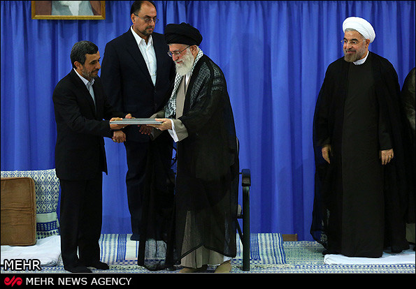 مراسم تنفیذ حکم ریاست جمهوری دکتر روحانی +تصاویر