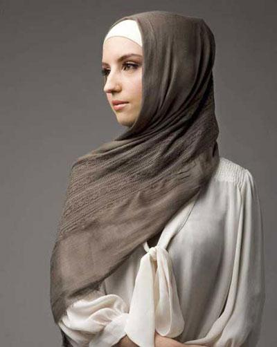 مدل های جدید بستن شال و روسری