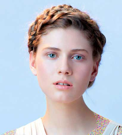 آموزش تصویری مدل های زیبای بافت مو