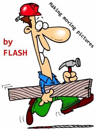 آموزش ساخت تصاویر متحرک در flash