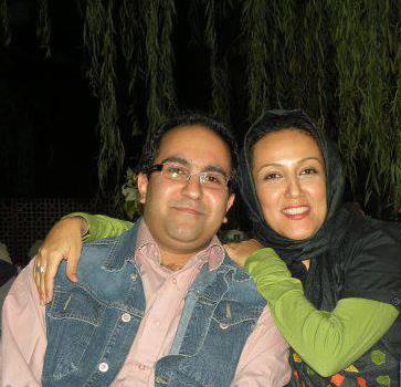عکسی از پانته آ بهرام و همسرش
