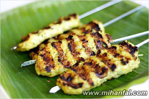 طرز تهیه کباب کوبیده مرغ (سیخی)
