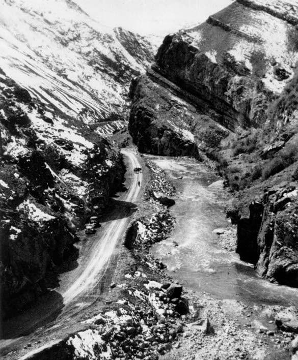 72 سال پیش جاده چالوس این شکلی بوده +عکس