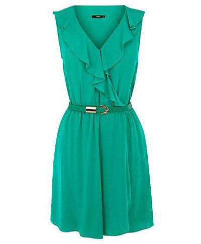 مدل لباس مجلسی سبز رنگ ۲۰۱۳