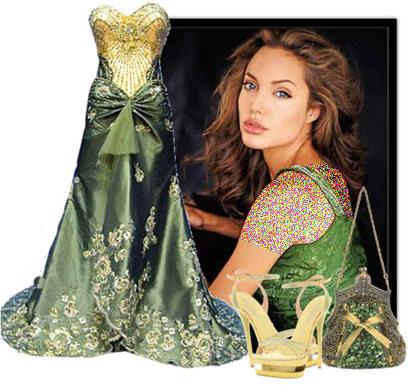 مدل های زیبای ست کردن لباس به سبک آنجلینا جولی +تصاویر