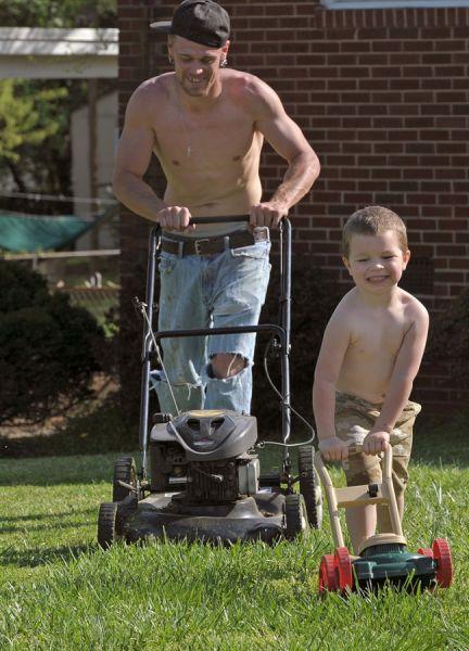 پدر و پسرهای بامزه و دیدنی