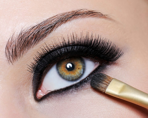 خط چشم و عوارض آن