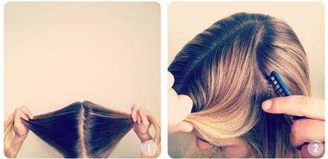 آموزش تصویری بافتن مو به شکل قلب