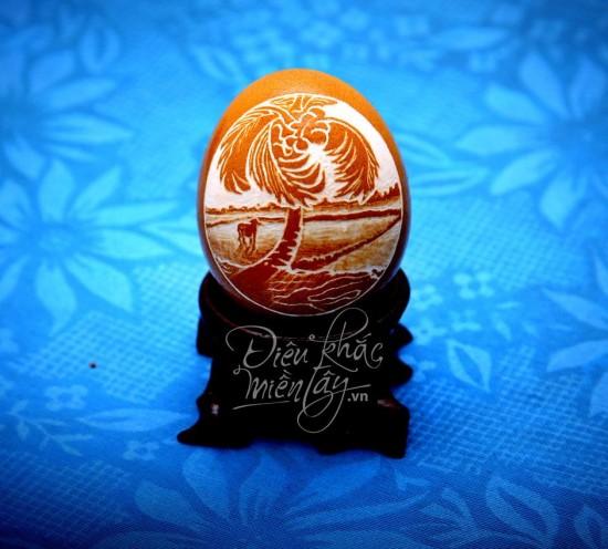 هنرنمایی های خارق العاده بر روی تخم مرغ +تصاویر