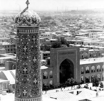 حرم امام رضا (ع) در گذشته +تصاویر