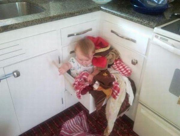 تصاویری جالب از پدر و مادرهای بی رحم!