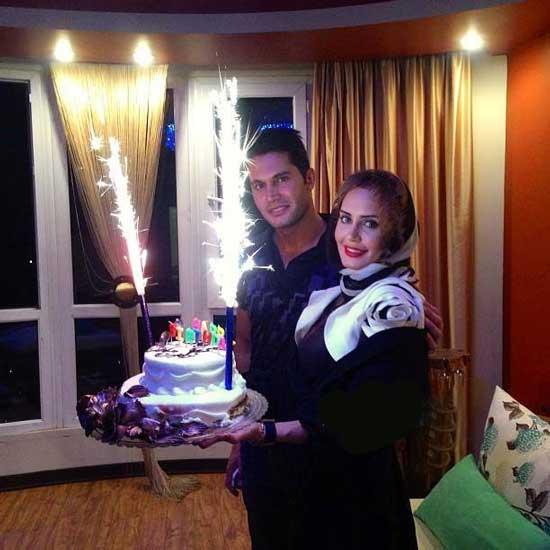 عکسی از الناز شاکردوست در جشن تولد برادرش