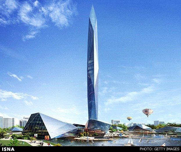 نخستین برج نامریی جهان