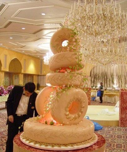 کیک عروسی زیبا و جالب /عکس
