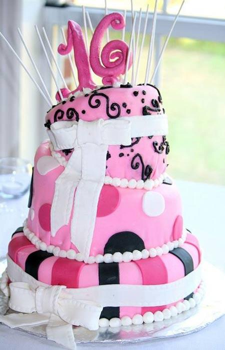 mm8vwd49 مدل های زیبای کیک تولد دخترانه