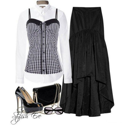 ست های شیک و زیبای لباس مجلسی دخترانه 2013