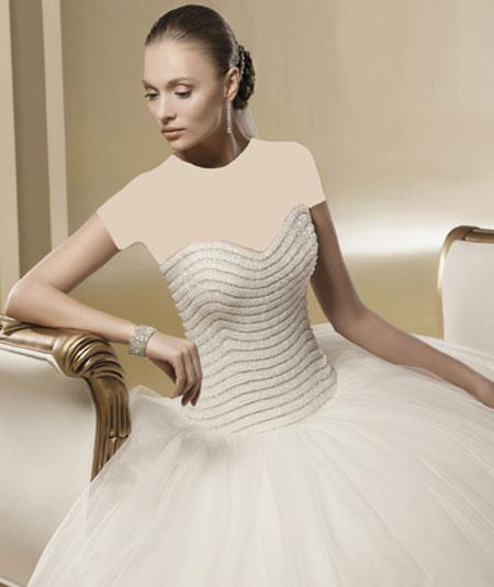 mo9676 مدل های زیبای لباس عروس پرنسسی برند ایتالیایی Nicole