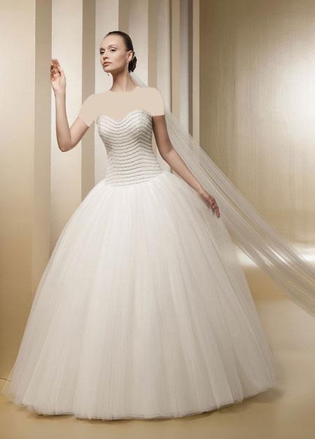 mo9677 مدل های زیبای لباس عروس پرنسسی برند ایتالیایی Nicole