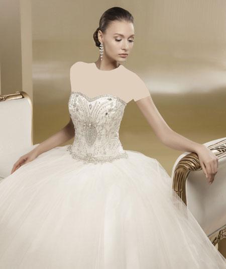 mo9682 مدل های زیبای لباس عروس پرنسسی برند ایتالیایی Nicole
