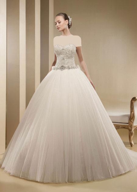 mo9683 مدل های زیبای لباس عروس پرنسسی برند ایتالیایی Nicole