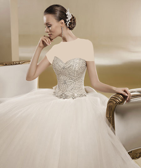 mo9684 مدل های زیبای لباس عروس پرنسسی برند ایتالیایی Nicole