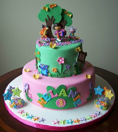 t0o784eb مدل های زیبای کیک تولد دخترانه