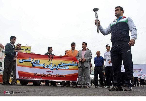 حمل مشعل المپیک در مازندران /تصاویر