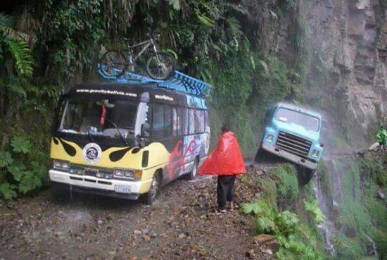 خطرناک ترین جاده دنیا +تصاویر