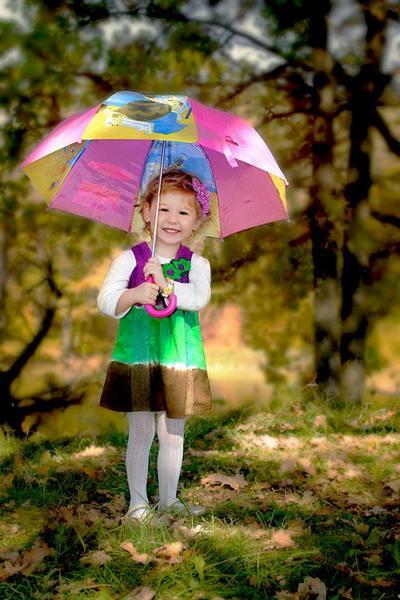 تصاویر زیبا از کودکان در فصل پاییز
