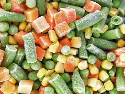 سبزیجات یخزده مصرف کنید!