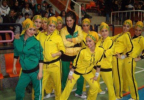 مسابقه رقص دختران ایرانی در تهران! +عکس