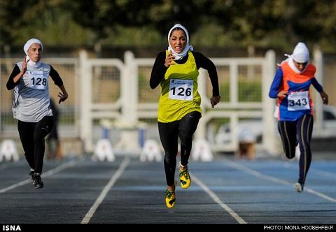 دختری به سرعت باد +تصاویر