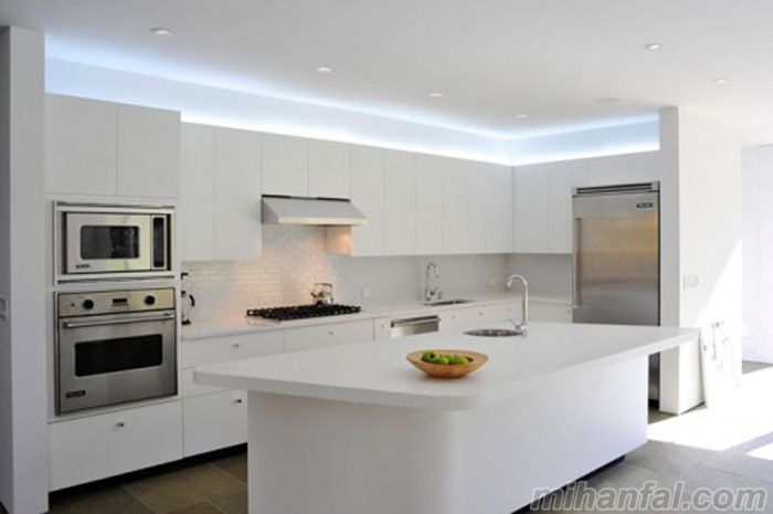 نمونه هایی بسیار زیبا و شیک از جدیدترین مدل کابینت آشپزخانه