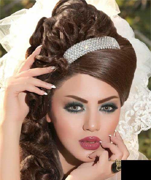 مدل های بسیار زیبای شینیون عروس 2014