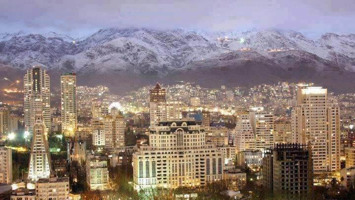 تصویری رویایی از تهران