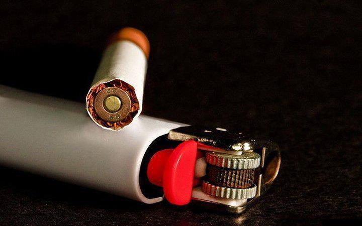داخل سیگار چیست؟ /عکس
