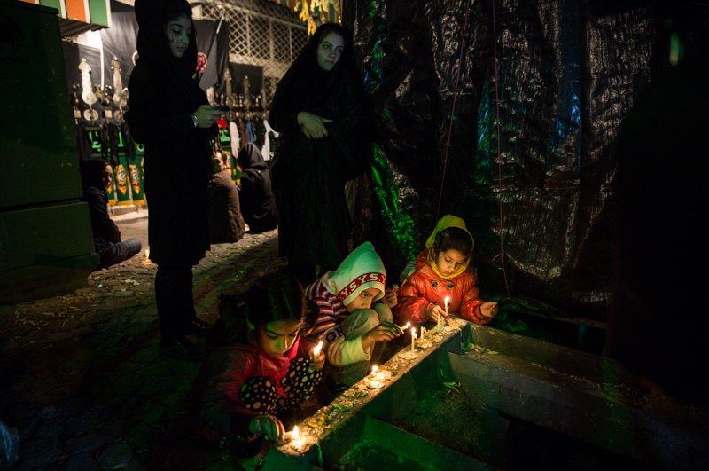 تصاویری از شام غریبان