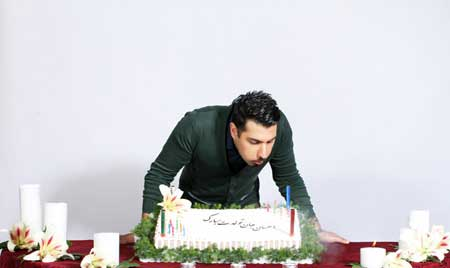 عکس های جشن تولد احسان خواجه امیری